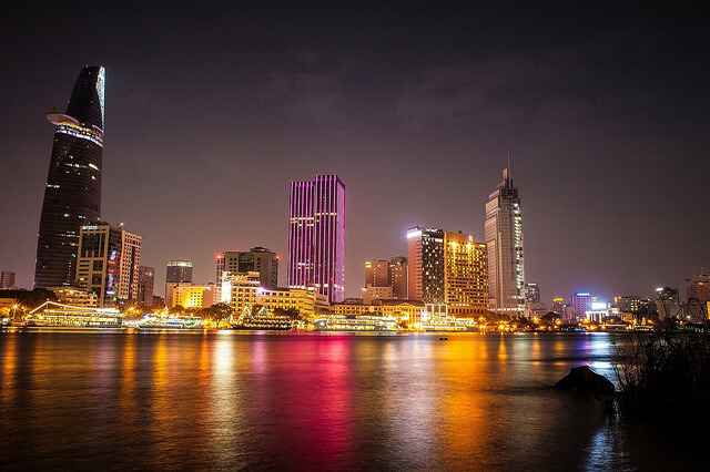 Southeast Asia city